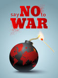 Say no to war Royalty Free Stock Image