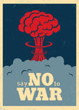 Say no to war Stock Image