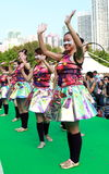 Say. Standard Chartered Arts in the Park Mardi Gras is one of Hong Kong's largest and most vibrant annual community arts events.nThis year, taking inspiration Stock Photo