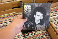 Say You, Say Me by Lionel Richie Stock Photography