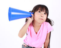 Say your word Royalty Free Stock Photo