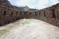 The Sayacmarca ruins on the Inca Trail Royalty Free Stock Image