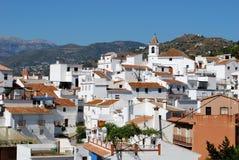 Sayalonga, Andalusien, Spanien. Lizenzfreie Stockfotografie