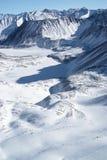 sayan östliga berg för altai Royaltyfri Foto
