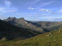 Sayan-Berge stockbilder