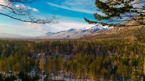 Sayan góry, Rosja Obraz Royalty Free