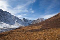Sayan Mountains alpine grasslands Royalty Free Stock Photography