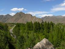 sayan västra för berg Arkivfoto