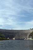 Sayano-Shushenskaya Hydro Power Station on the River Yenisei Royalty Free Stock Image