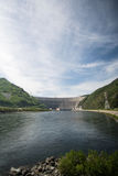 Sayano-Shushenskaya Hydro Power Station on the River Yenisei. In Russia Stock Photography