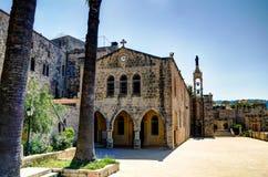 Saydet Al Talle Church at Deir al Qamar, Lebanon Royalty Free Stock Images
