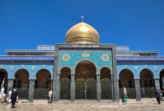 Sayeda Zeinab寺庙在叙利亚 图库摄影