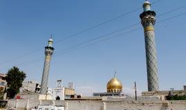 Sayeda Zeinab shrine in Syria Stock Images