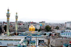 Sayeda Zeinab shrine in Syria Royalty Free Stock Photography