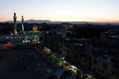 Sayeda Zeinab shrine in Syria Royalty Free Stock Images