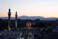 Sayeda Zeinab shrine in Syria Stock Image