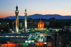 Sayeda Zeinab shrine in Syria Stock Photo