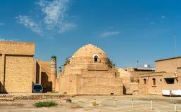 Sayid Allauddin Mausoleum at Itchan Kala, the walled inner town of the city of Khiva, Uzbekistan Royalty Free Stock Image