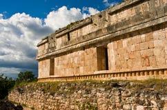 Sayil是玛雅人考古学站点,尤加坦,墨西哥 免版税库存图片
