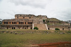 Sayil main palace Stock Images
