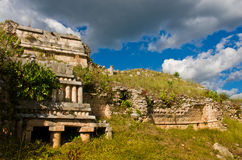 Sayil is a Maya archaeological site, Yucatan, Mexico Stock Photo