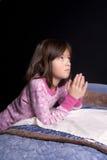 Saying prayers. Royalty Free Stock Image