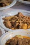 Sayur-nangka, indonesisches Lebensmittel Lizenzfreies Stockbild