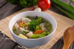 Sayur sop ή φυτική σούπα στοκ φωτογραφία με δικαίωμα ελεύθερης χρήσης