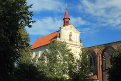 Sazava修道院 免版税库存照片