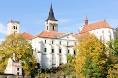 sazava μοναστηριών Στοκ εικόνες με δικαίωμα ελεύθερης χρήσης