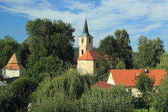 Sazava Στοκ εικόνα με δικαίωμα ελεύθερης χρήσης