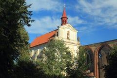 Sazava kloster Royaltyfria Foton