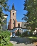 Sazava kloster 02 Arkivfoto