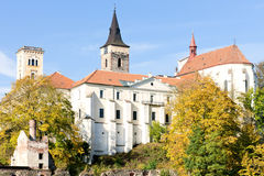 Sazava monastery Royalty Free Stock Images