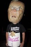 SB 1070 di legge di immigrazione dell'Arizona di protesta Fotografia Stock