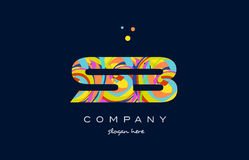 sb s b colorful alphabet letter logo icon template vector vector illustration