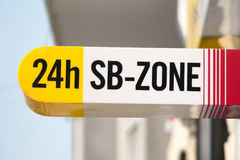 24 sb-zone plate Stock Image