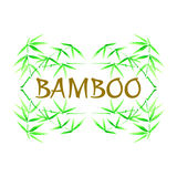 Sbamboo frame Royalty Free Stock Photography