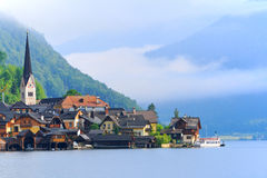 Sbarchi culturali Salzkammergut/di Hallstatt-Dachstein Fotografia Stock