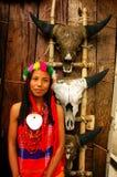 Sbarco & la gente dell'Nagaland-India. Immagine Stock Libera da Diritti