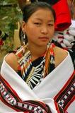 Sbarco & la gente dell'Nagaland-India. Fotografia Stock Libera da Diritti