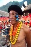 Sbarco & la gente dell'Nagaland-India. Immagini Stock