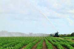Sbarco dell'azienda agricola di irrigazione Immagini Stock
