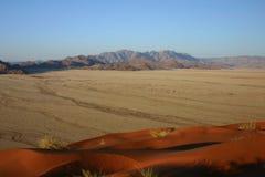 Sbarco di Sesriem dalla duna di Elim Immagini Stock