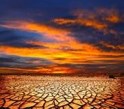 Sbarco di siccità Fotografie Stock
