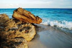 Sbarco ed il mare. fotografia stock libera da diritti