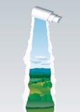 Sbarco strappato illustrazione di stock