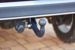 Sbarra del rimorchio su un'automobile fotografie stock libere da diritti