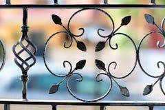 Sbarre di ferro decorative Immagine Stock