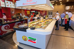 A Sbarro branch in hypermarket Royalty Free Stock Images